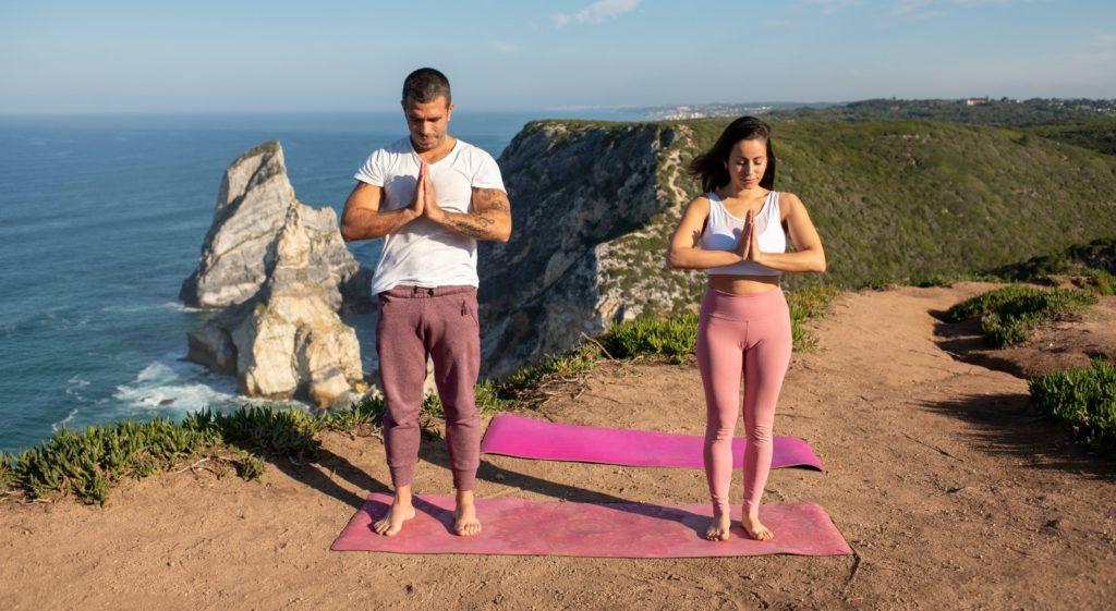 faire du yoga en 2 Namasté